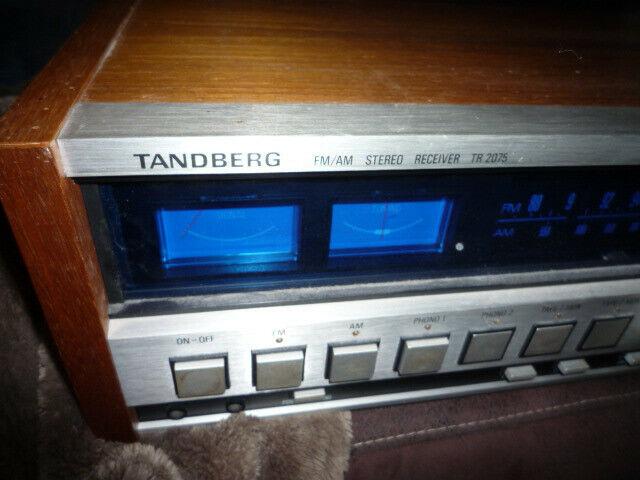 Ampli-tuner vintage tandberg tb2075