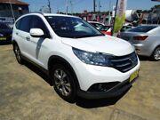 2014 Honda CR-V 30 MY15 VTi-L (4x4) White 5 Speed Automatic Wagon Five Dock Canada Bay Area Preview