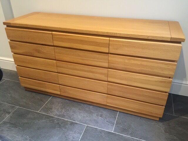 Solid Oak Sideboard (Multiyork) | in Woodbridge, Suffolk | Gumtree