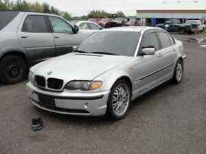 2003 BMW 320I.. JUST IN FOR PARTS AT PIC N SAVE! WELLAND
