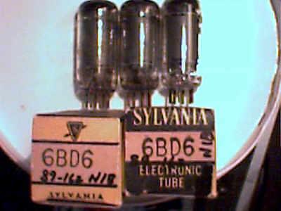 Tube 4ea 6BD6  2NIB  tstd amp radio amplifier ham