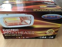 NEW Electric Wall Patio Heater