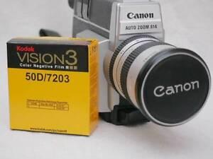 Canon 814 super 8 movie camera with fresh cartridge of film. Hurstville Hurstville Area Preview