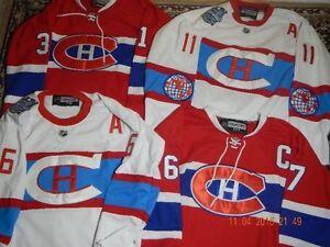 *** BRAND NEW CANADIENS JERSEYS - M, L, XL, XXL, XXXL - $60ea.