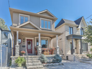 4 Bedroom Family Home In  East York