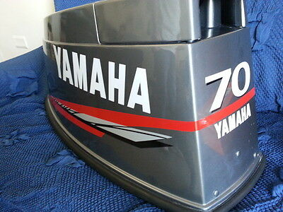 Adesivi motore marino fuoribordo Yamaha 40 70 75 80 90  hp  gommone barca - 90 Hp Yamaha Fuoribordo