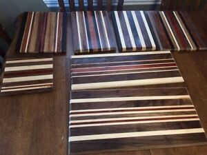 cutting boards made from exodic woods
