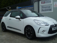 2012 CITERON DS3 DSPORT PLUS 1.6 THP { FSH} FINANCE AVAILABLE