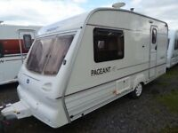 Bailey Pageant 15ft 2 berth,end bathroom, OWNED FROM NEW. Superb.