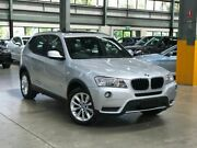 2013 BMW X3 F25 xDrive20d Wagon 5dr Steptronic 8sp 4x4 2.0DT [MY13.5] Silver Automatic Wagon Port Melbourne Port Phillip Preview