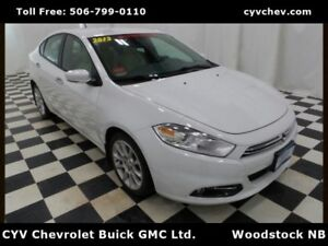 2013 Dodge Dart Limited - Heated Leather, Rear Camera & Remote S