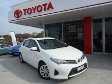 2013 Toyota Corolla ZRE182R Ascent Glacier White 7 Speed CVT Auto Sequential Hatchback Allawah Kogarah Area Preview