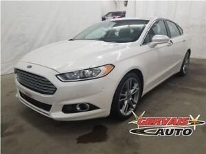 Ford Fusion Titanium AWD Navigation Cuir Toit Ouvrant MAGS 2013