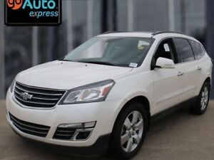 2015 Chevrolet Traverse LTZ, LEATHER, MOON RO0OF, ONE OWNER ACCI