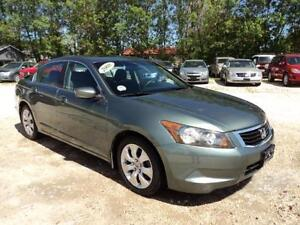 2008 Honda Accord EX 4 cyl auto sunroof low km