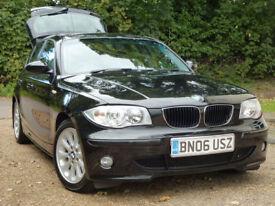 BMW 120D SE 2006 6 Speed Manual i drive system Full Service Record SATNAV