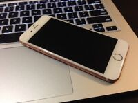 Iphone 6S, ROSE GOLD, 64 GB, Lock with FIDO