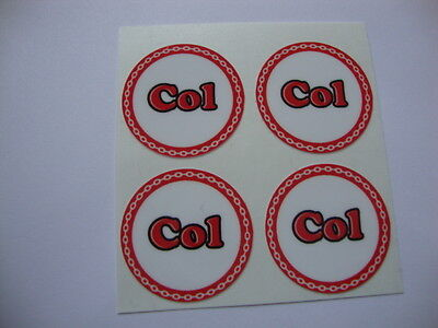 """12  COL CROWN GREEN STICKERS  1""""   LAWN BOWLS FLATGREEN  AND INDOOR BOWLS"""