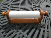 Wooden Kitchen Towel Holder