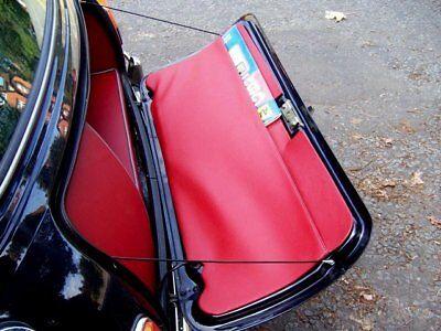 La Garniture de malle arrière au vide-poche surpiqué - Mini Austin Rover Cooper