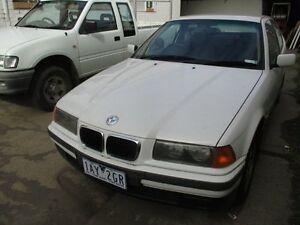 1997 BMW 318TI E36 White 4 Speed Automatic Hatchback Tottenham Maribyrnong Area Preview