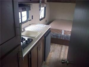 2017 16 FQ WOLF PUP TRAVEL TRAILER, SLEEPS 2! 3000 lbs! $16495!! London Ontario image 2