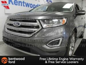 2015 Ford Edge Titanium AWD, NAV, sunroof, heated/cooled power l