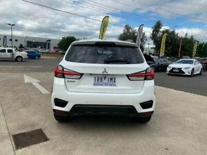 2019 Mitsubishi ASX XD MY20 LS 2WD White 1 Speed Constant Variable Wagon Hoppers Crossing Wyndham Area Preview