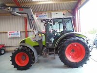 Claas Celtis 446RX 4WD, 2007, c/w MX T8 loader