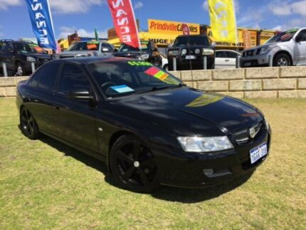 2006 Holden Commodore VZ MY06 Executive Black 4 Speed Automatic Sedan Wangara Wanneroo Area Preview