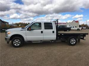 2013 F-350 XLT Crew deck truck certified Warranty Very Clean