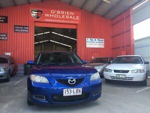 2008 Mazda 3 BK10F2 Neo Blue 5 Speed Manual Sedan Clontarf Redcliffe Area Preview