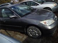 2005 HONDA CIVIC**AUTO**A/C**CLEAN INTERIOR**POWER GROUP