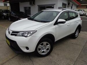 2014 Toyota RAV4 ZSA42R MY14 Upgrade GX (2WD) White Continuous Variable Wagon Sylvania Sutherland Area Preview