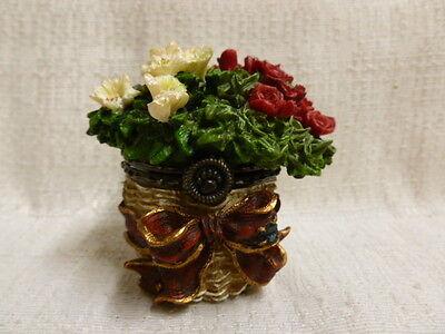 Boyds Bear Bloomin Basket W/ Brie McNibble Treasure Box 3E 392121 New In Box