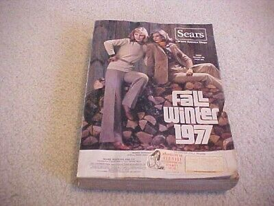 1977 SEARS LARGE FALL AND WINTER  CATALOG