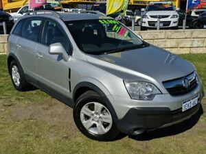 2010 Holden Captiva CG MY10 5 AWD Silver 5 Speed Sports Automatic Wagon Wangara Wanneroo Area Preview