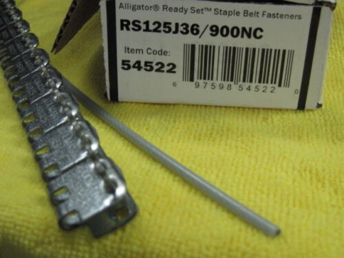 Flexco 54522 Alligator Ready Set Staples RS125J36/900NC