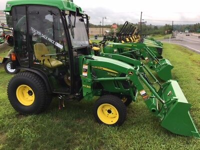 John Deere 2032r Tractor With Loader And Tektite Cab