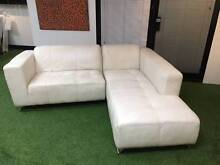 Leather Chaise Lounge St Leonards Willoughby Area Preview