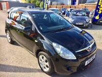 HYUNDAI I20 1.2 Comfort 5dr - Low Mileage - Low Tax �30 - Low Insurance - Great Spec (black) 2011