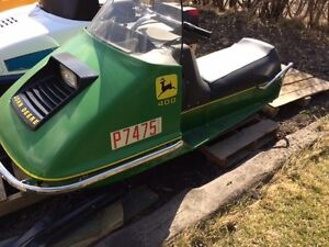Looking for a 72 JD 400 snowmobile