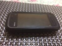 Nokia 5228 touch screen used mobile phone