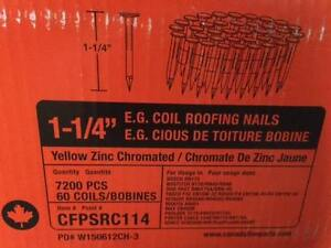 "1 1/4"" Coiled Roofing Nails"