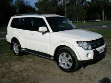 2008 Mitsubishi Pajero NS VR-X White 5 Speed Sports Automatic Wagon Strathpine Pine Rivers Area Preview