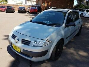 2004 Renault Megane X84 Authentique Silver 5 Speed Manual Hatchback Georgetown Newcastle Area Preview