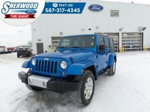 2015 Jeep Wrangler Unlimited Sahara - One Owner, Remote Start