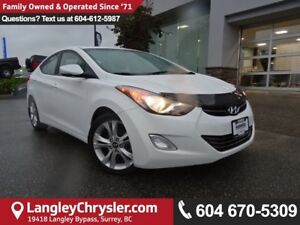 2013 Hyundai Elantra Limited *ACCIDENT FREE * LOCAL BC CAR *