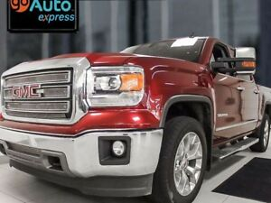 2015 GMC Sierra 1500 SLT 4x4 with power seats and a trailer brak