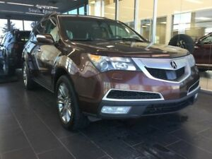 2010 Acura MDX ELITE, HEATED/COOLED SEATS, SUNROOF, CAMERA